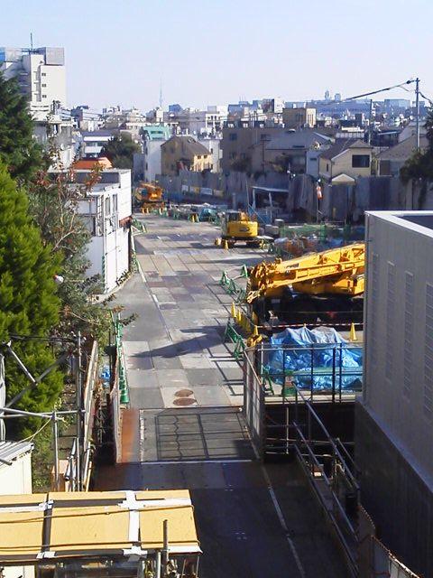下北沢 複々線化 2015.11-4
