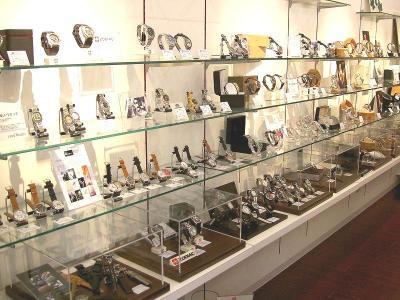 下北沢 クールビーンズ 時計 メガネ セレクトショップ 店内写真 時計 ウォッチ その1