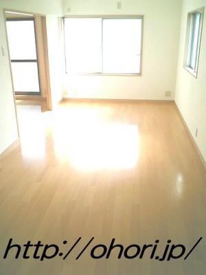 下北沢 賃貸 マンション 3階 1LDK 南西角三面採光 水周り・建具ほか室内新品の内装 写真3-1