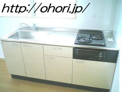 下北沢 賃貸 マンション 3階 1LDK 南西角三面採光 水周り・建具ほか室内新品の内装 写真4-2