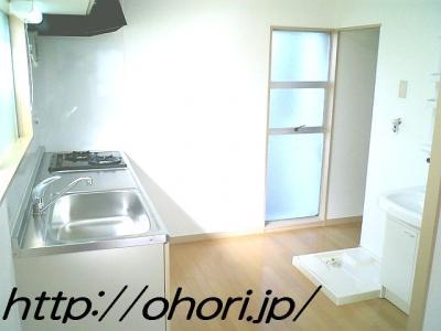 下北沢 賃貸 マンション 3階 1LDK 南西角三面採光 水周り・建具ほか室内新品の内装 写真5-1