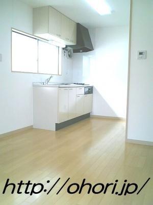 下北沢 賃貸 マンション 3階 1LDK 南西角三面採光 水周り・建具ほか室内新品の内装 写真5-2