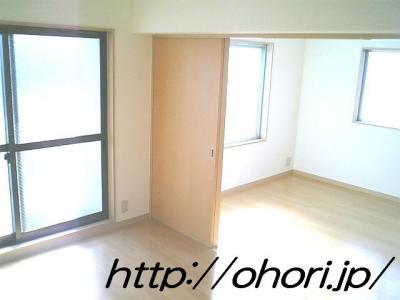 下北沢 賃貸 マンション 3階 1LDK 南西角三面採光 水周り・建具ほか室内新品の内装 写真6-1