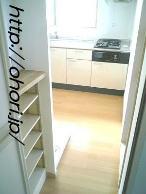下北沢 賃貸 マンション3階 1LDK 南西角三面採光 水周り・建具ほか室内新品の内装 写真11-2