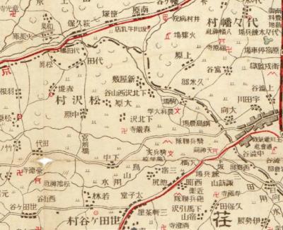 東京郊外地図1917