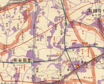最新大東亰地図1925