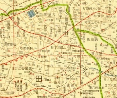 新興大東京市制全図1934