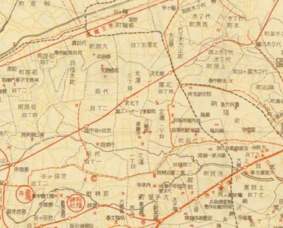 最新大東京交通名所1933