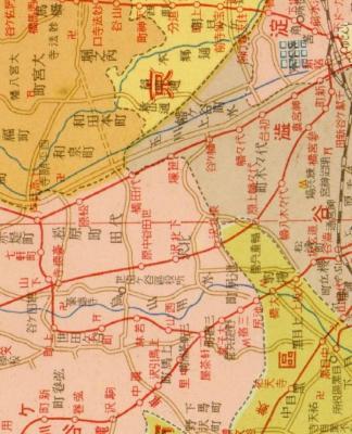 最新調査新大東京市35区全図新市域交通明細1933