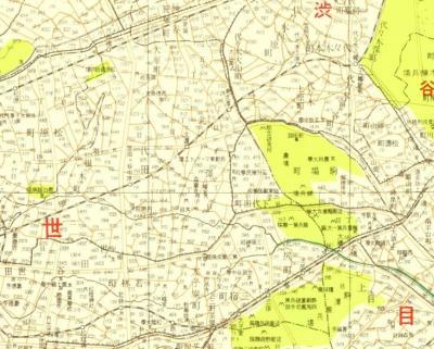昭和七年東京全図(昭和8・1933)