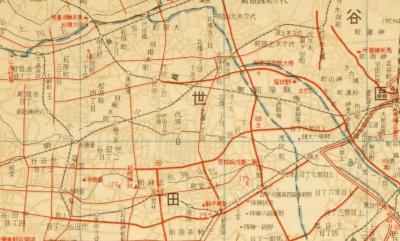 大東京案内地図1935