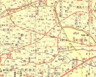 昭和十五年東京全図