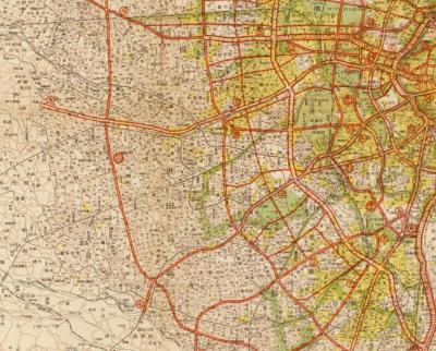 新生東京都都市計画図マクロ1946