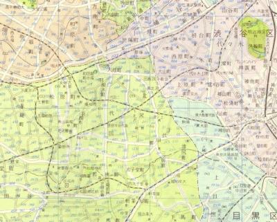模範東京全図1955