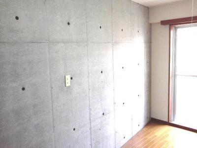 下北沢 賃貸 マンション デザイナーズ メゾネット 1DK 2階居室 コンクリート打放内装 オートロック 物件写真4-3