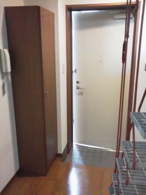 1DK 2階居室 コンクリート打放内装 オートロック 物件写真6-1
