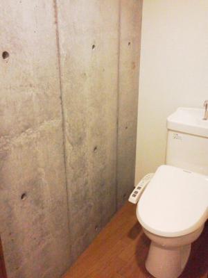1DK 2階居室 コンクリート打放内装 オートロック 物件写真7-3