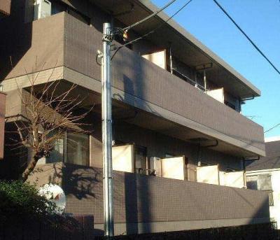下北沢 賃貸マンション 2階 バス・トイレ別 オートロック 外観写真