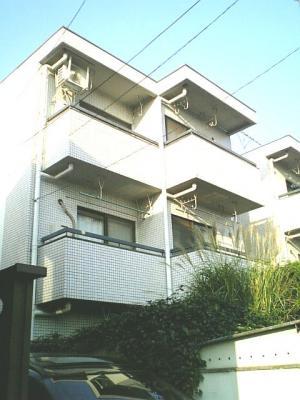 賃貸 ワンルーム・マンション 下北沢駅徒歩圏 最上階・3階角・南向 礼金なし 外観写真
