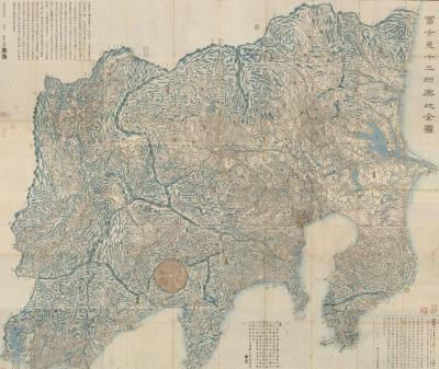 富士見十三興地全図